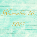Astrology of Today – November 26, 2016