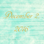 Astrology of Today – December 2, 2016