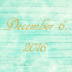 Astrology of Today – December 6, 2016