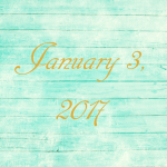 Astrology of Today – Tuesday, January 3, 2017