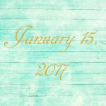 Astrology of Today – Sunday, January 15, 2017
