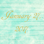 Astrology of Today – Friday, January 27, 2017