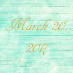 Astrology of Today – Monday, March 20, 2017