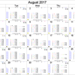 August 2017