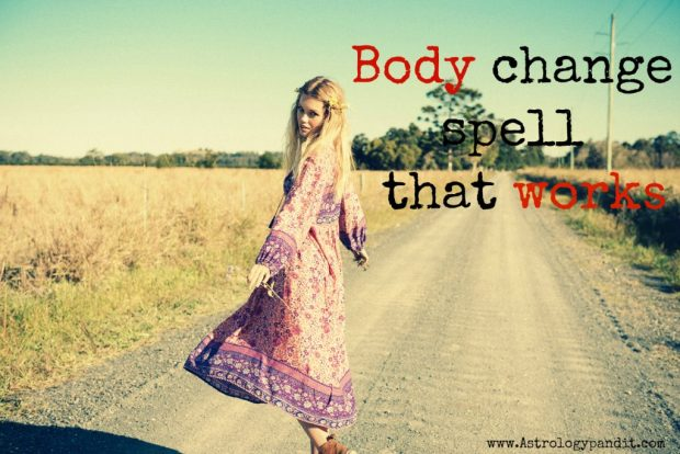 body change spell that works