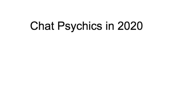 Chat Psychics