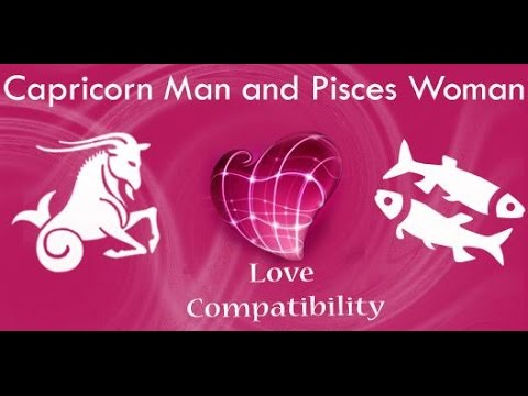 Pisces man Capricorn woman compatibility in love online