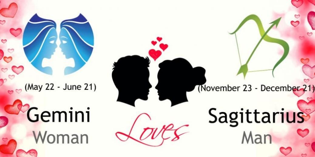 Sagittarius mangemini woman Compatibility in love online