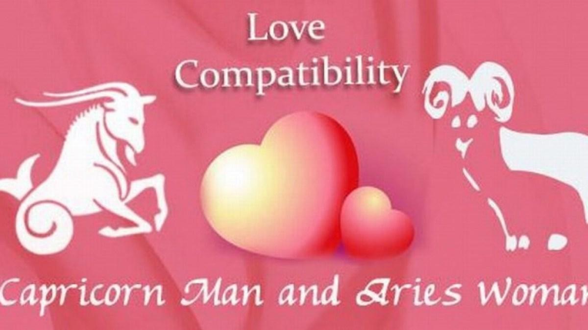 Capricorn man Aries woman compatibility in love