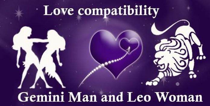 gemini man leo woman compatibility