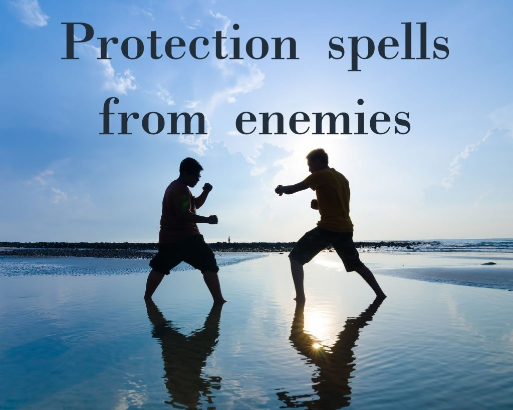 protection spells from enemies