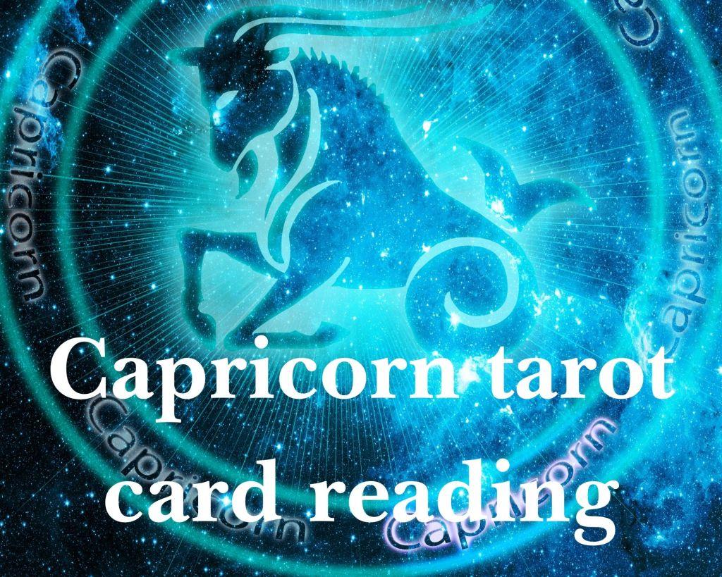 Capricorn tarot card reading