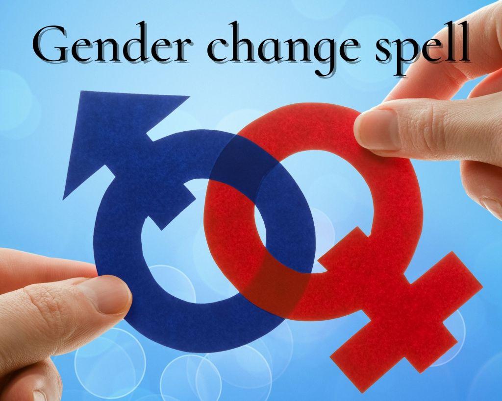 gender change spell