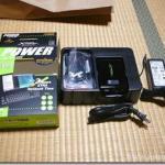 Willcom D4用外付けバッテリー『X-PAL AMOS』がきた!