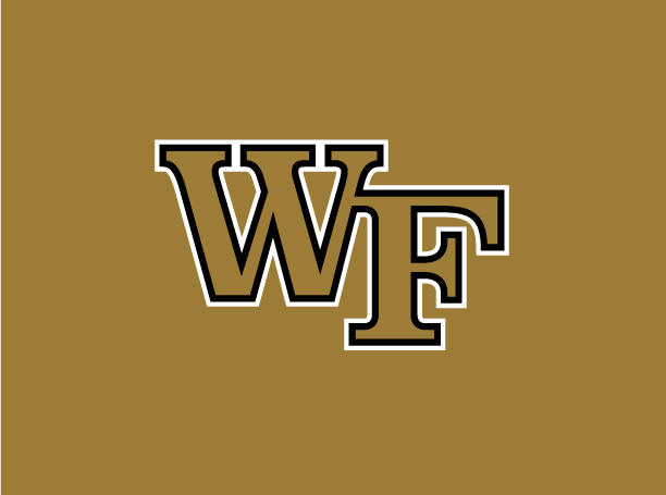 Wake Forest WF Primary Mark Logo (Gold)