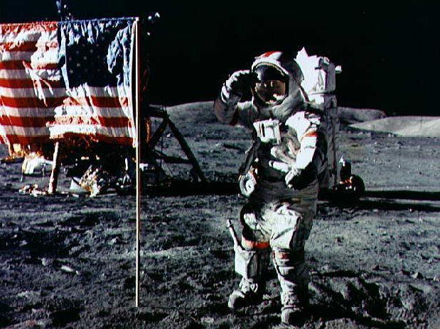 Apollo 17 moon photos