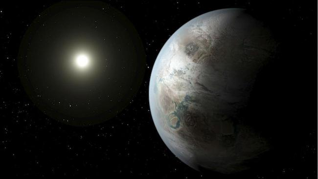 Ilustrasi eksoplanet. Kredit: NASA/Ames/JPL-Caltech/T. Pyle