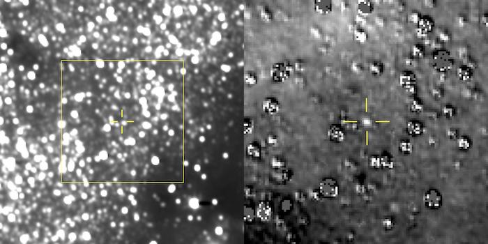 Citra Sabuk Kuiper Ultima Thule yang dipotret New Horizons. Kredit: NASA
