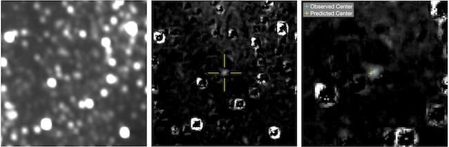 Citra posisi Ultima Thle yang dipotret New Horizons. Kredit: NASA/JHUAPL/SwRI/KinetX