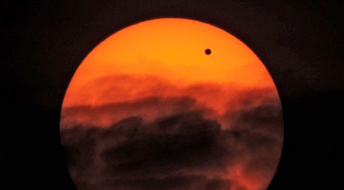 Las mejores imágenes del tránsito de Venus en 2004