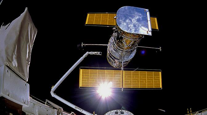 El Telescopio Espacial Hubble cumple 24 años