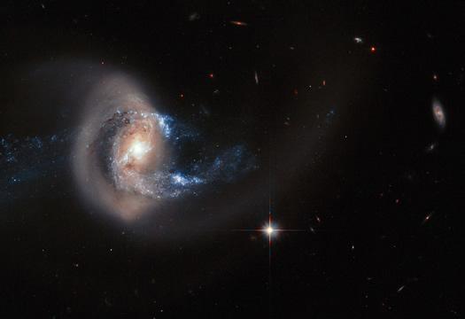 NGC 7714 gokadasi