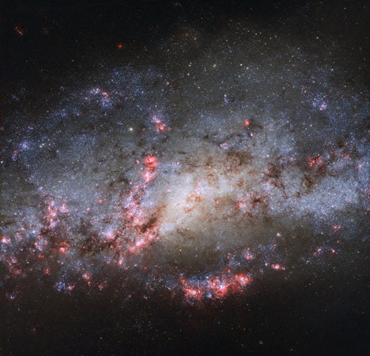 The Galaxy With The Abundant Stars: NGC 4490 - image on https://universegap.com