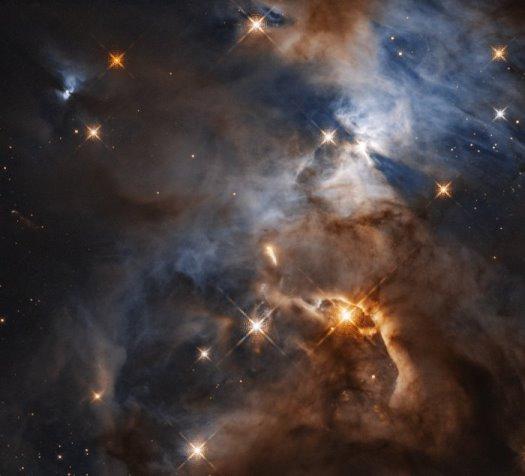 Kozmik gölge ve HBC 672 yıldızı.