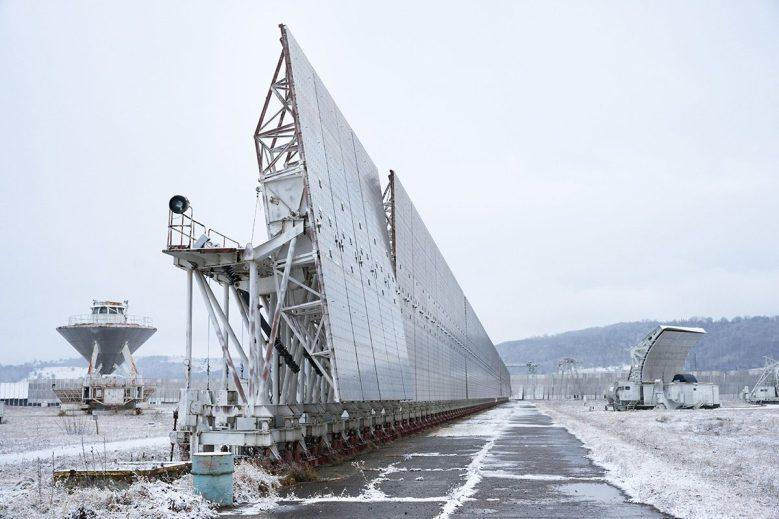 The RATAN-600 radio telescope in Zelenchukskaya Mikhail Turnovskiy/Alamy Stock Photo