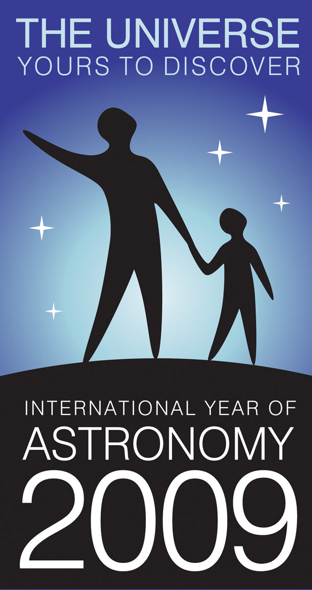 Logo for International Year of Astronomy 2009 - Astronomy2009.org