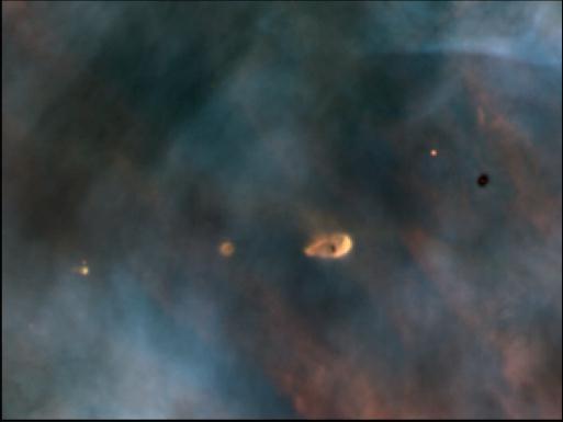 evaporating protostars