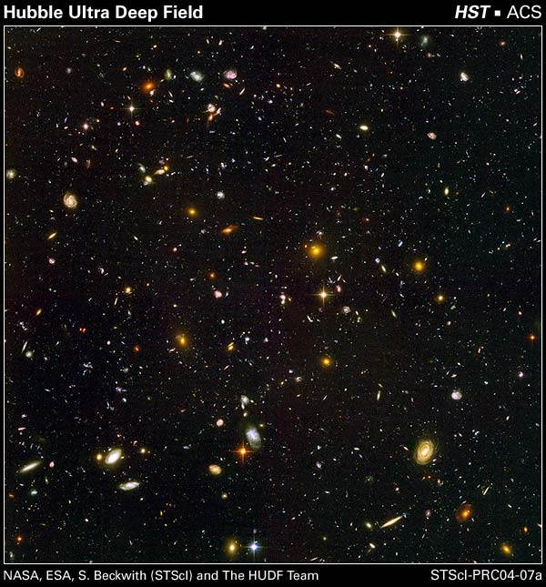 The Hubble Ultra Deep Field -10000 galaxies!