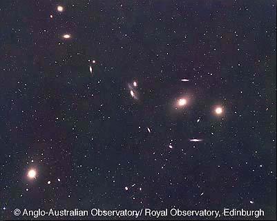 Virgo Cluster center