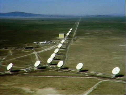 aerial view  of Very Large Array