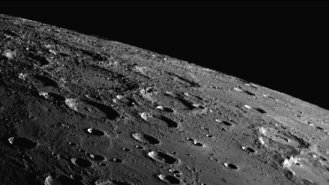 Mercury Most Cratered Planet