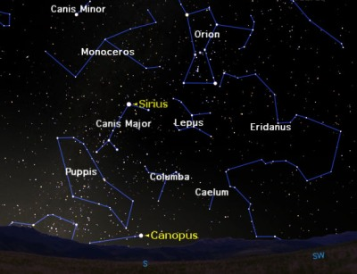 The Night Sky's 2nd Brightest Star: Canopus