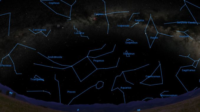 Which Constellations Can Be Seen along the Milky Way?