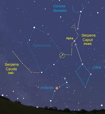 Star Constellation Facts: Serpens