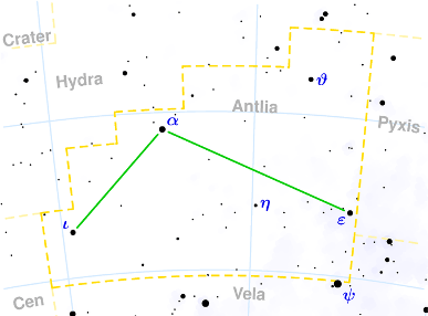Constellation Antlia