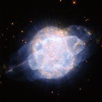 Blue Planetary Nebula (NGC 3918)