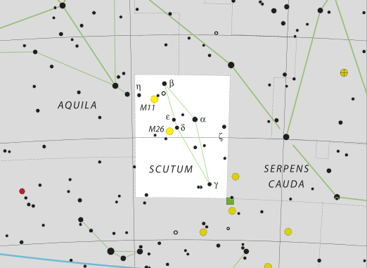 Scutum Constellation