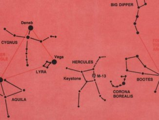 Summer Constellations of the Northern Hemisphere