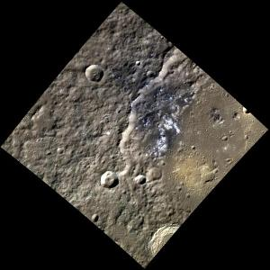 Pyroclastic Lava Flow on Mercury