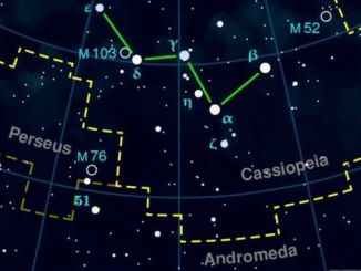 M52 and M103 in Cassiopeia