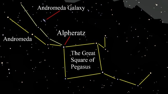Alpheratz star