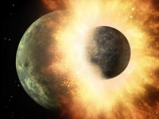 Earth's Water Supply Survived Moon-Forming Impact