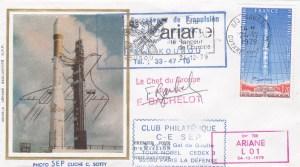 A001 1 1 - Vol L01 du 24/12/1979 (signée Chef du Groupe Ariane)