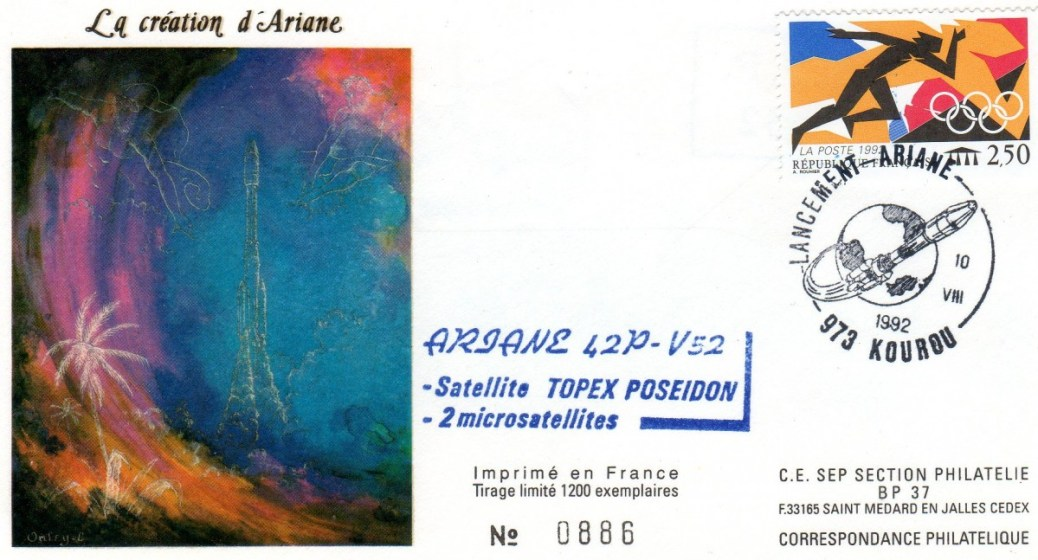 A052 - Vol 52 du 10 Aout 1992