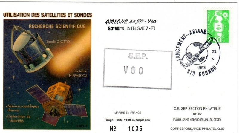 A060 - Vol 60 du 22 Octobre 1993