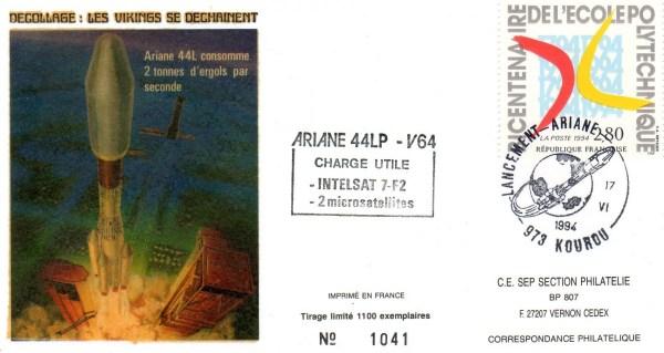 A064 - Vol 64 du 17 Juin 1994